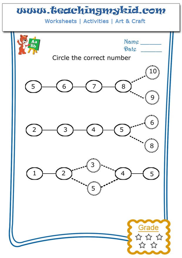 worksheet for kids