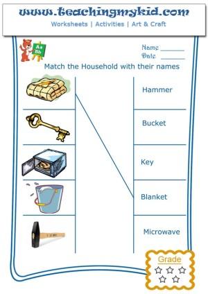 Printable preschool worksheets