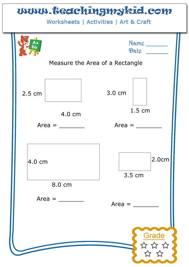 Maths worksheets for kids