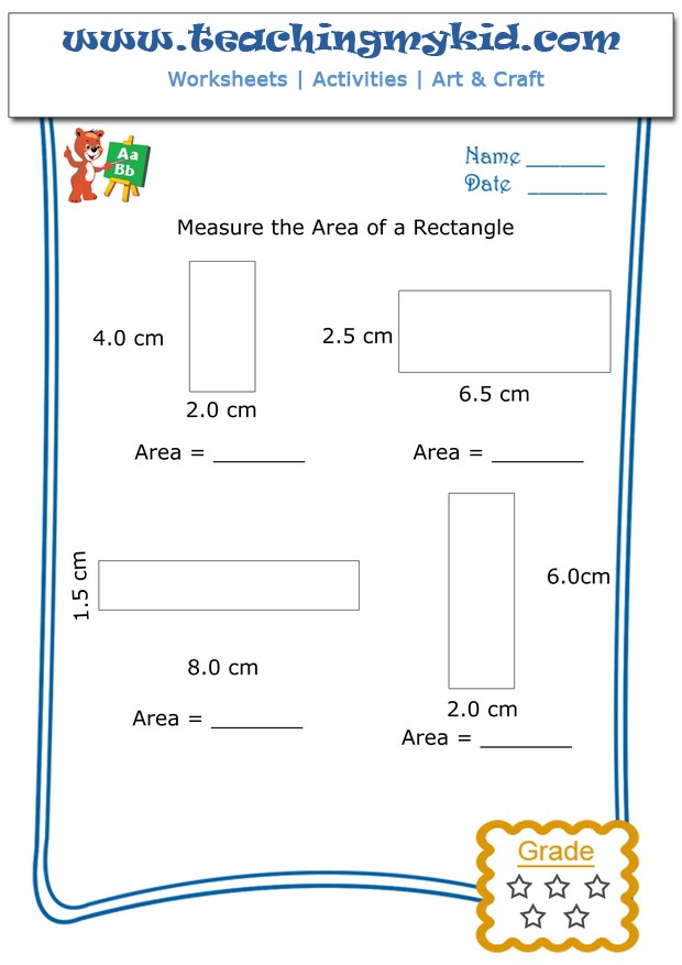 Math worksheet for kids