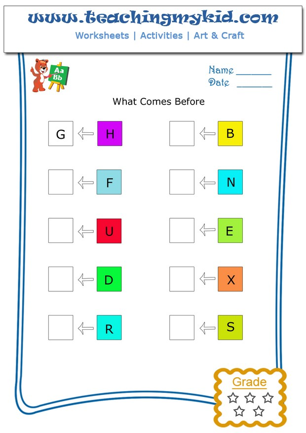 fun worksheets for kids - Count & Circle Odd or Even - 8