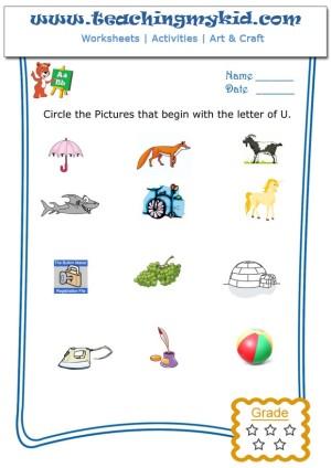 printable worksheets for kindergarten
