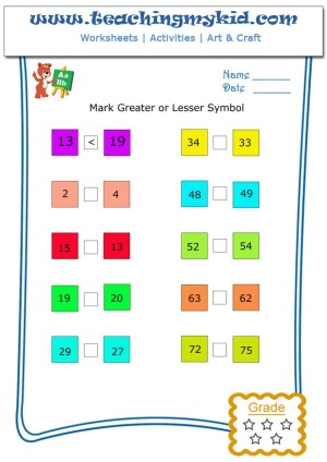 worksheet for kindergarten