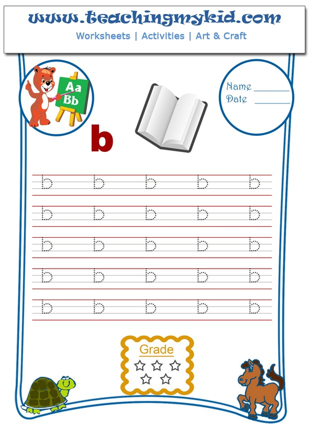 Kindergarten writing worksheets