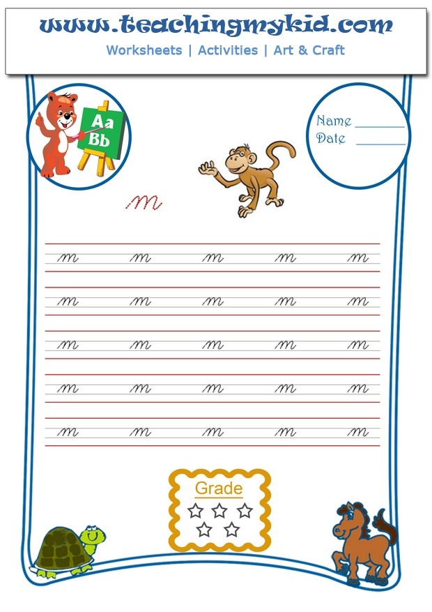 English worksheets for kids