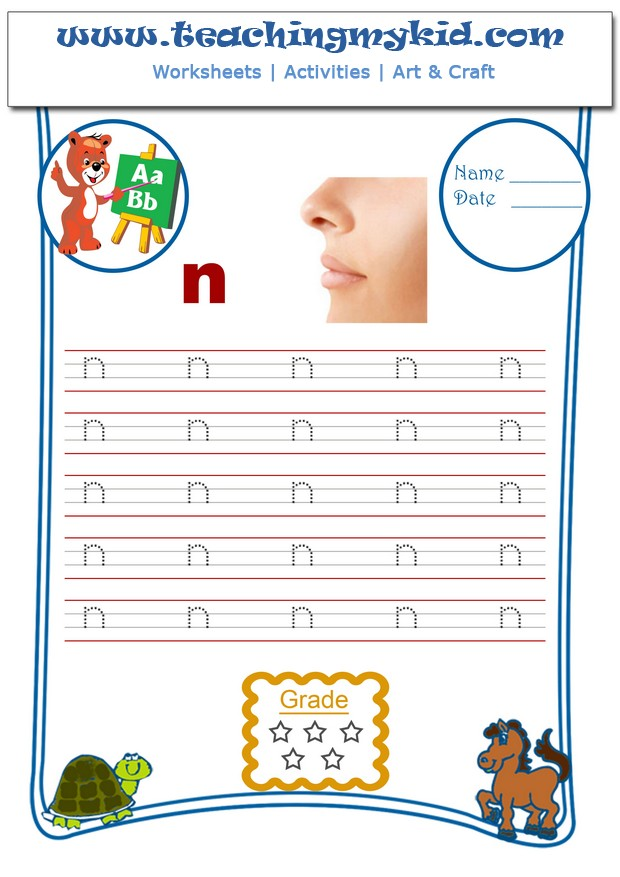 printable worksheets - Match the body parts with their names - 1