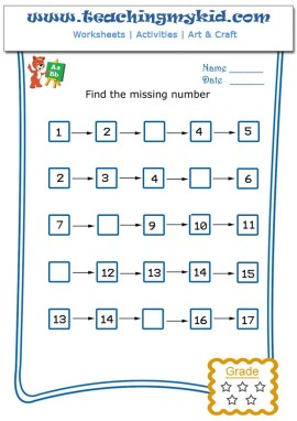 WorkSheet Archive - Page 53 of 82 - Teaching My Kid | Page 53