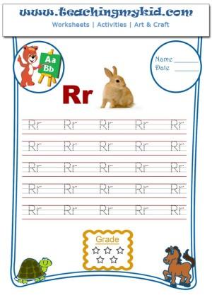 Free printable kindergarten worksheet