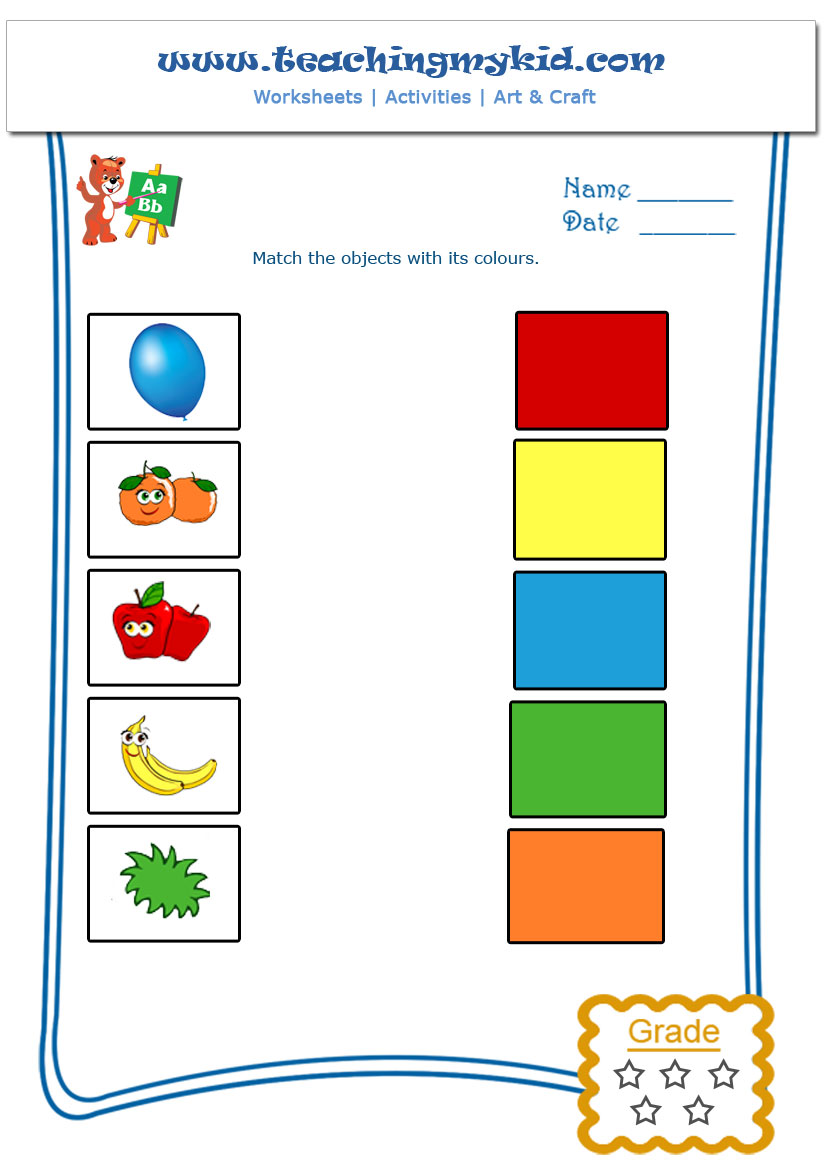 math worksheet : printable kindergarten worksheets match objects with ...