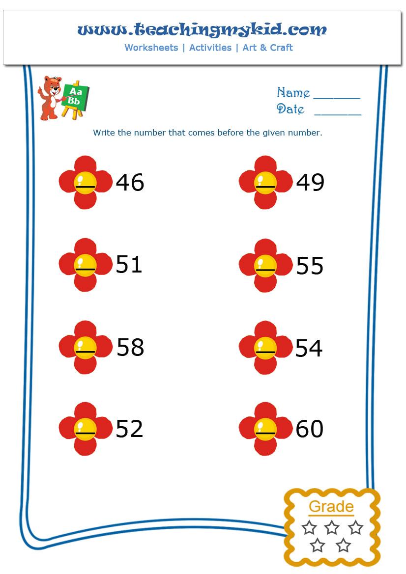 Free printable preschool worksheets - Match same Objects-2