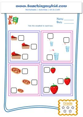 Kindergarten Learning Free Printable Worksheets