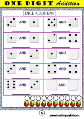 mathematics worksheets - First Grade Math Unit 3 ADDITION