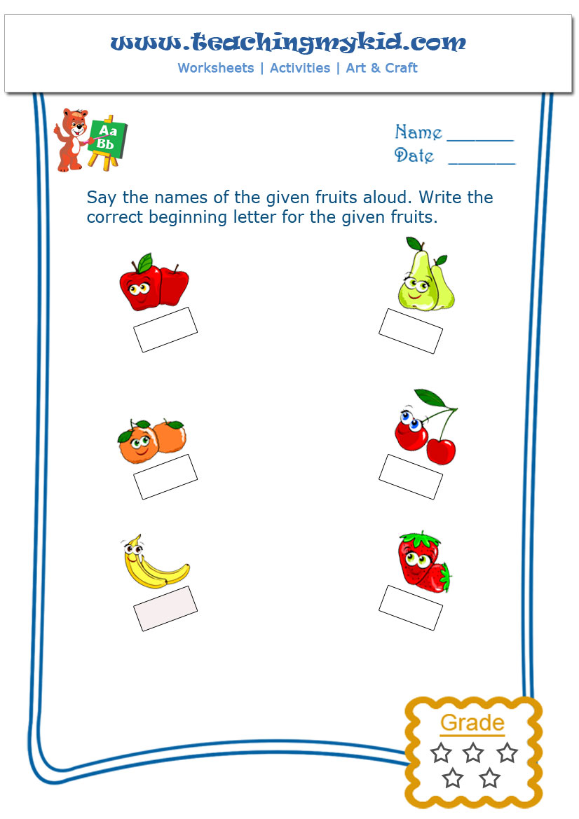 Workbooks matching letters worksheets : English Archives - Teaching My Kid